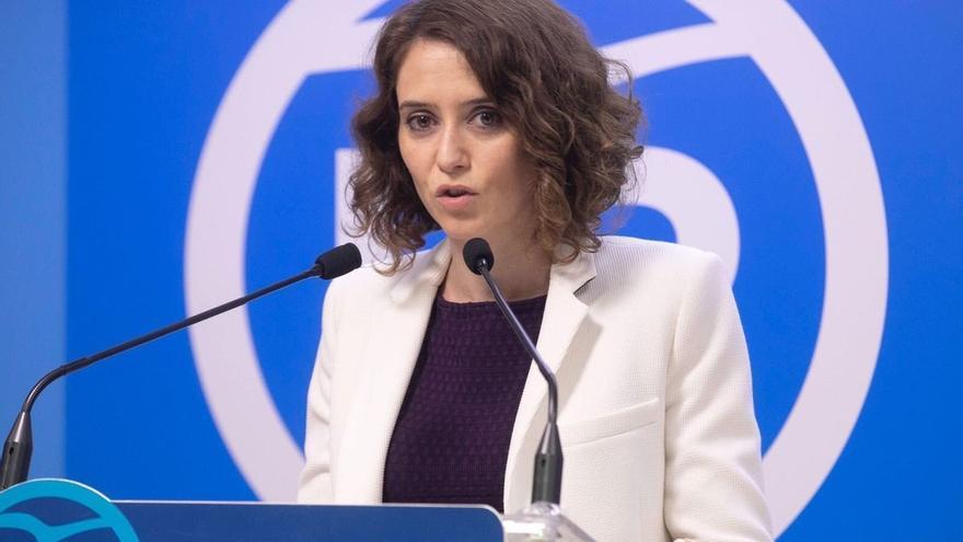 """Isabel Díaz Ayuso, la candidata del PP """"sin miedo"""" a defender sus ideas con la que el centrismo de Cifuentes se evapora"""