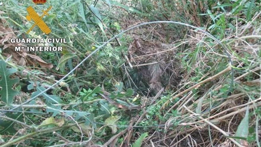 Lazos utilizadas para la caza ilegal / Foto: SEPRONA