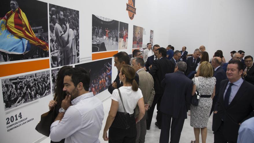 Inaugurada l'exposició 'Valencia Basket, l'èxit de l'Esforç', fermall final al 30é aniversari taronja