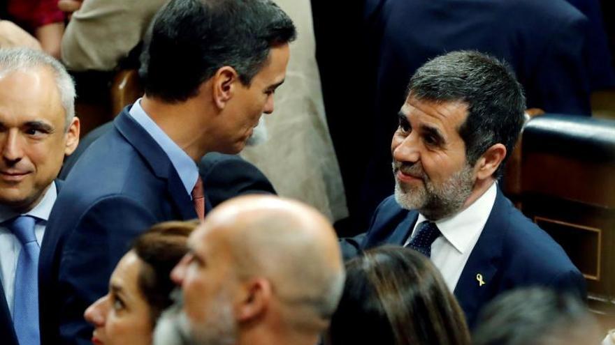 Sànchez pide al Supremo salir de prisión para la consultas con el Rey