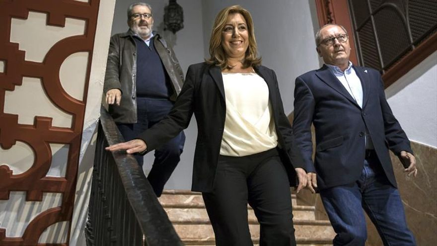 Díaz e Iceta manifiestan voluntad de unir para fortalecer proyecto socialista