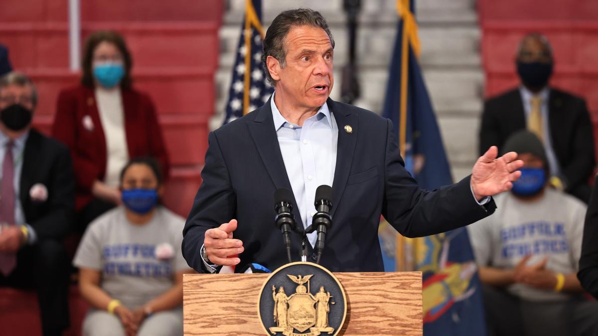 En la imagen, Andrew Cuomo, gobernador de Nueva York.