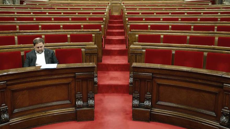 "Junqueras: ""No va a haber una huida de empresas de Cataluña"""