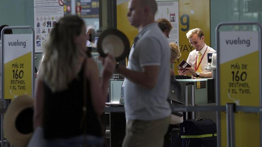 Los problemas de Vueling continúan, aunque se reduce la afectación de vuelos