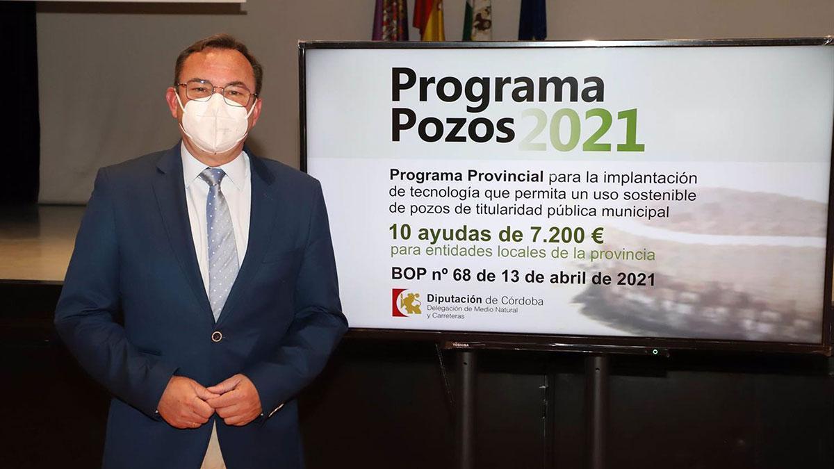 El delegado de Medio Natural y Carreteras en la Diputación de Córdoba, Francisco Palomares.