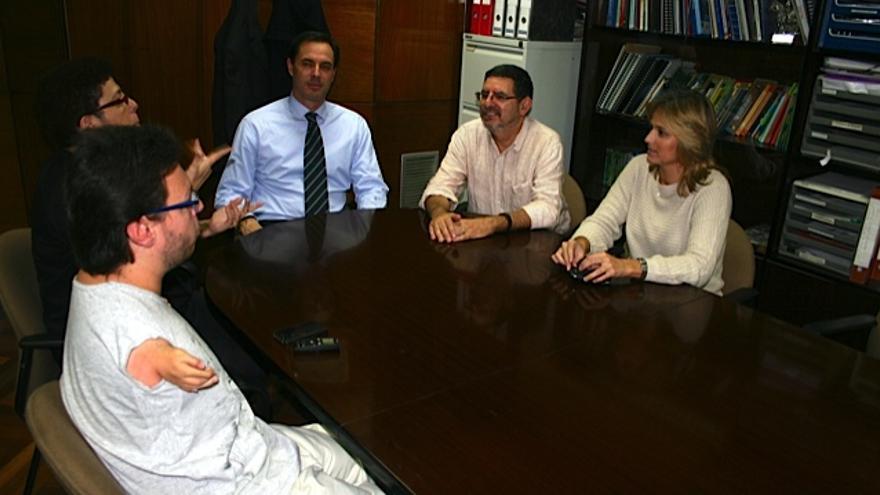 María Isabel Revilla, Antonio Costa, Eduardo Estella y Leticia Cisneros