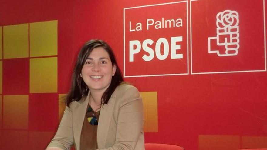 Goretti Pérez Corujo es portavoz de PSOE en Mazo.