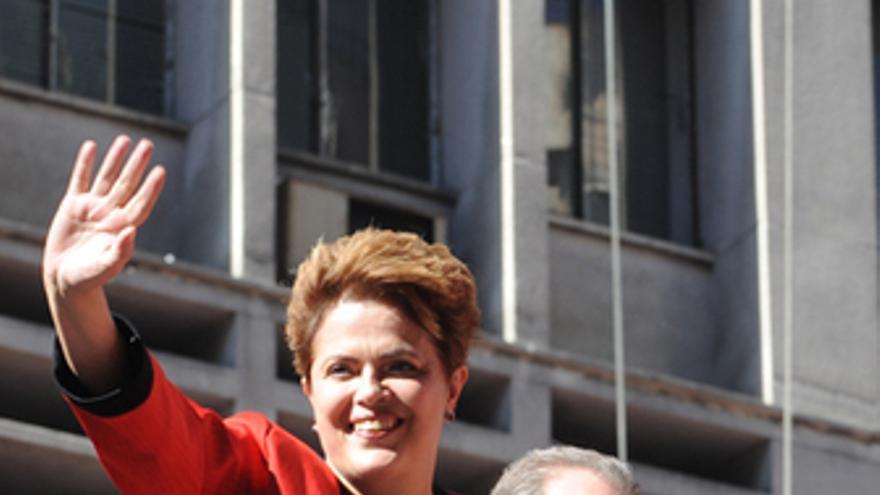 Dilma Rousseff, candidata presidencial por el Partido de los Trabajadores.