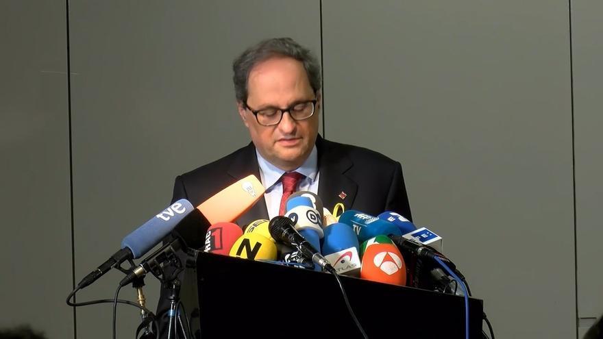 """El Gobierno no asistirá a la toma de posesión de Torra porque el modelo de acto degrada """"la dignidad de la institución"""""""