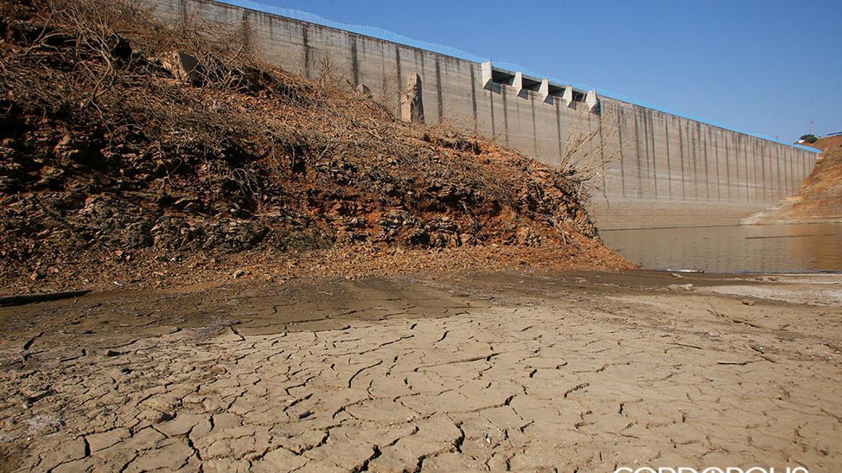 La sequía emerge La Breña I