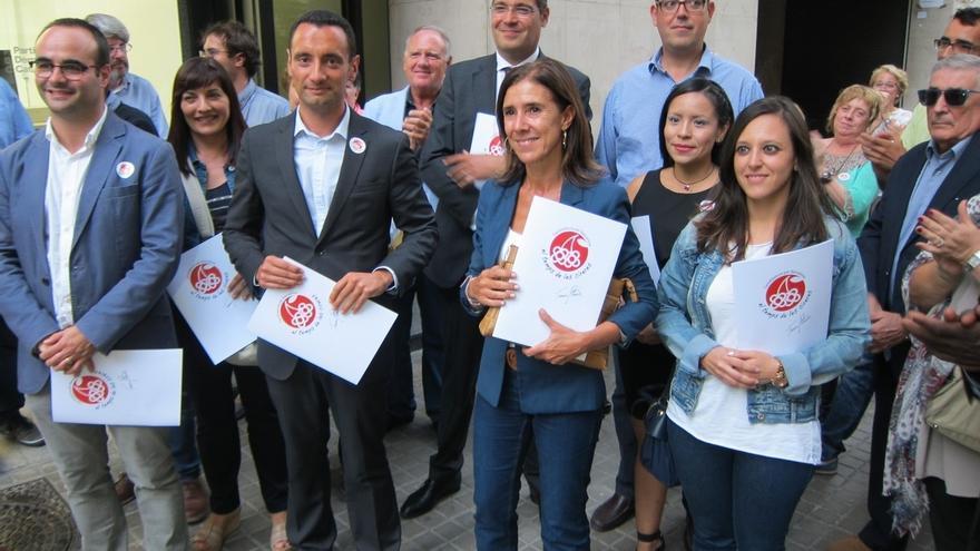 Homs, Pitarch y Freixa formalizan sus candidaturas a liderar el PDC en Barcelona