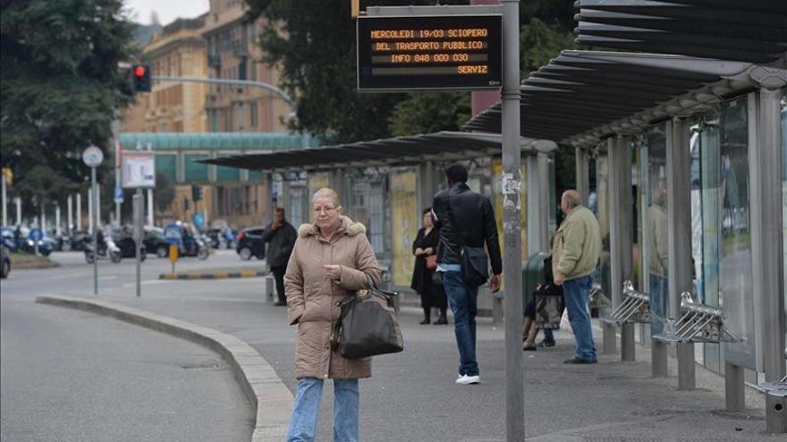 Dos sindicatos mayoritarios convocan huelga general el 12 diciembre en Italia