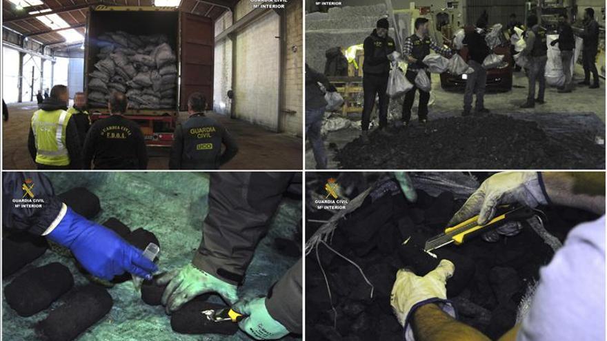 Nueve detenidos e intervenidos 390 kg. cocaína que llegaron al puerto de Gijón