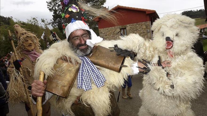 El carnaval de la Vijanera vuelve a ahuyentar males para estrenar el nuevo año