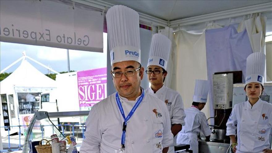 Los mejores heladeros de Asia se dan citan en el Gelato World Tour de Tokio