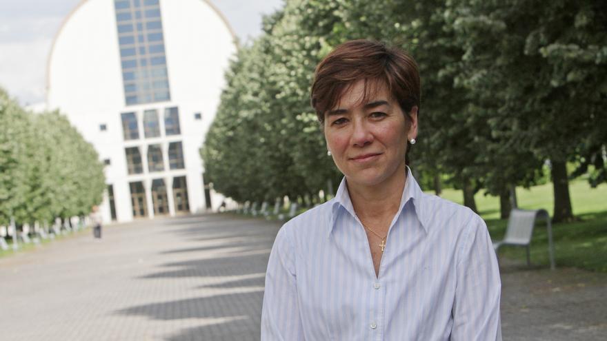 La vicerrectora de Proyección Universitaria de la UPNA, Eloísa Ramírez.