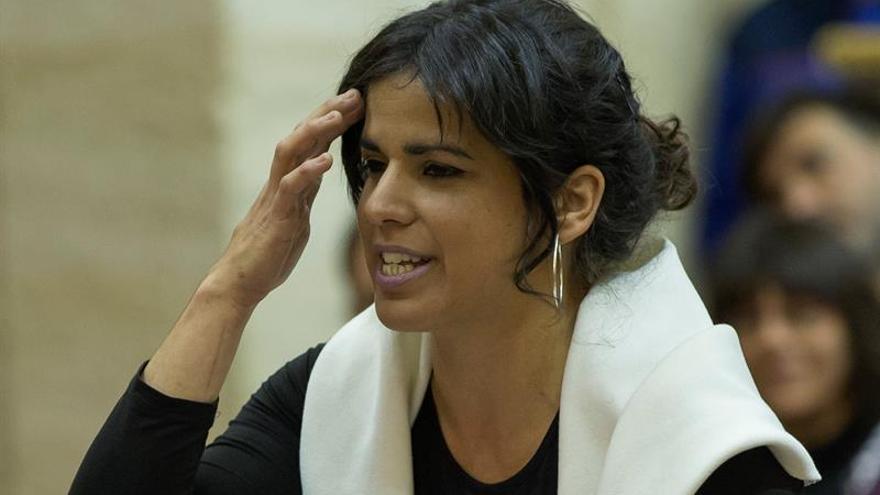 """Teresa Rodríguez defiende el """"no"""" en el referéndum convocado por Podemos"""