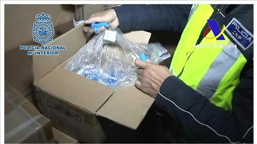 La Policía detuvo este año a 200 personas por distribuir productos falsificados