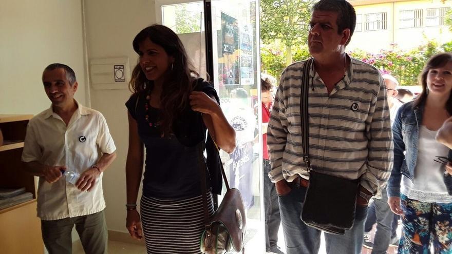 """Teresa Rodríguez (Podemos) dice que el planteamiento sobre la confluencia con IU es """"un primer borrador"""""""