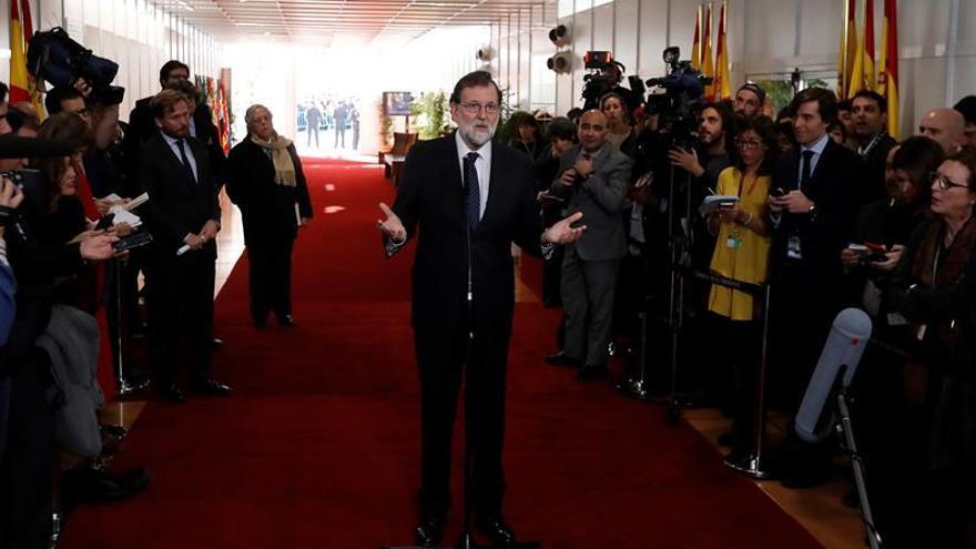 Rajoy urge al PSOE a acordar una nueva financiación que no aprobará sin su apoyo