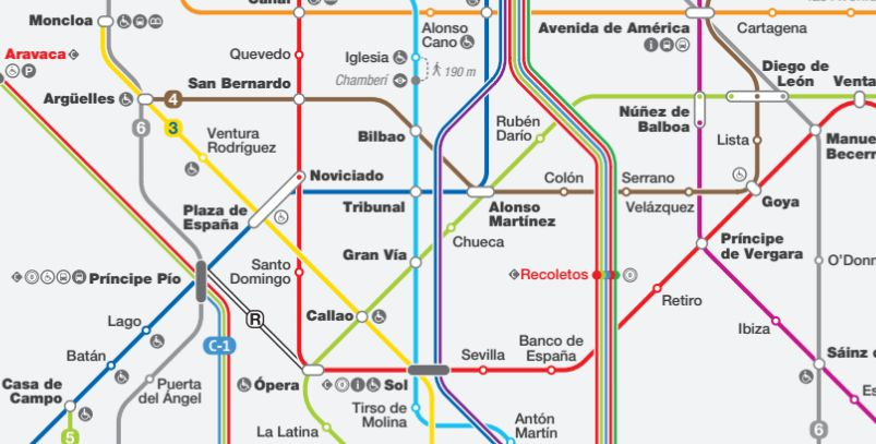 Plano de la Red Ferroviaria Integrada de Madrid (pincha para descargar)
