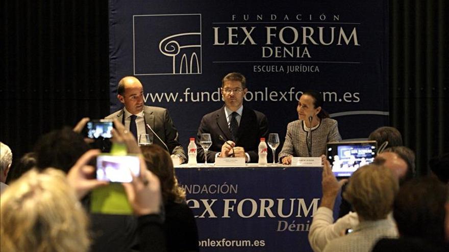 Catalá: La modernización de la Justicia va más allá de lo tecnológico