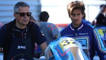 Santi Concepción Jr en el circuito de Aragón.