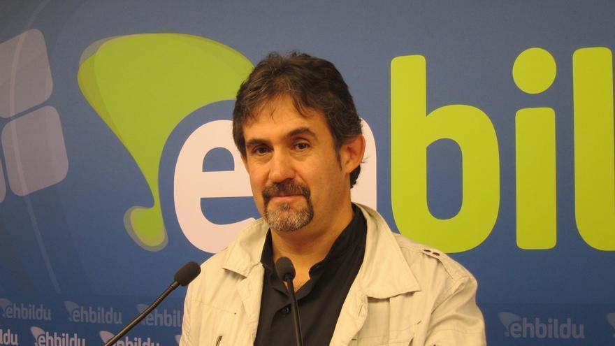 """EH Bildu insiste en un acuerdo a tres en Euskadi porque ya funciona en Navarra y no ha habido """"ninguna catástrofe"""""""
