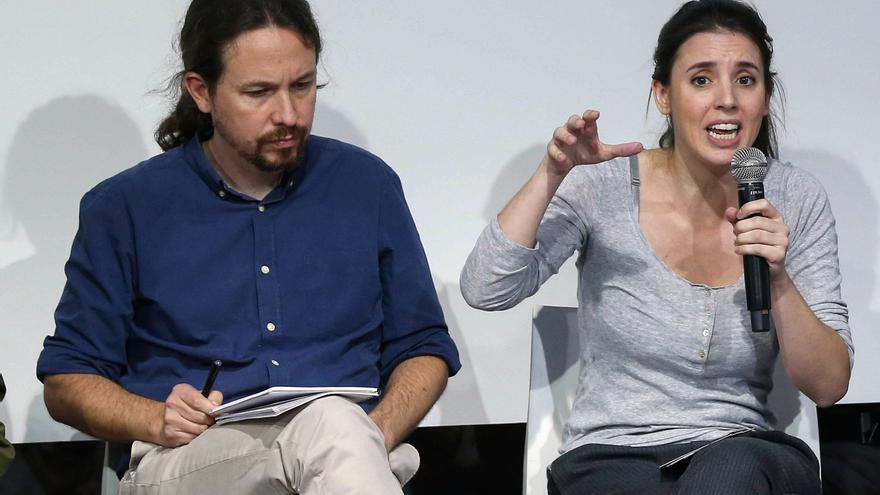 """Iglesias y Montero acaban su descanso en Asturias """"por seguridad"""" ante amenazas"""