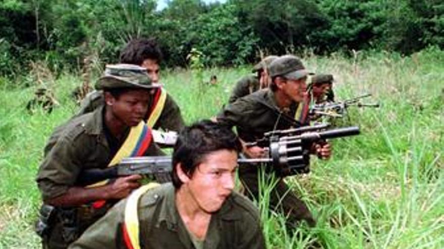 Mueren un niño de cuatro años y un guerrillero en Colombia