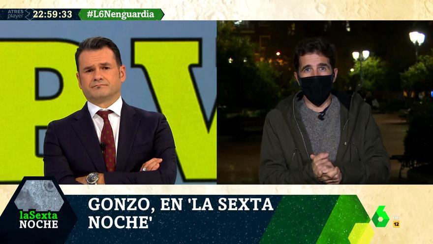 Iñaki López entrevista a Gonzo en 'laSexta Noche'