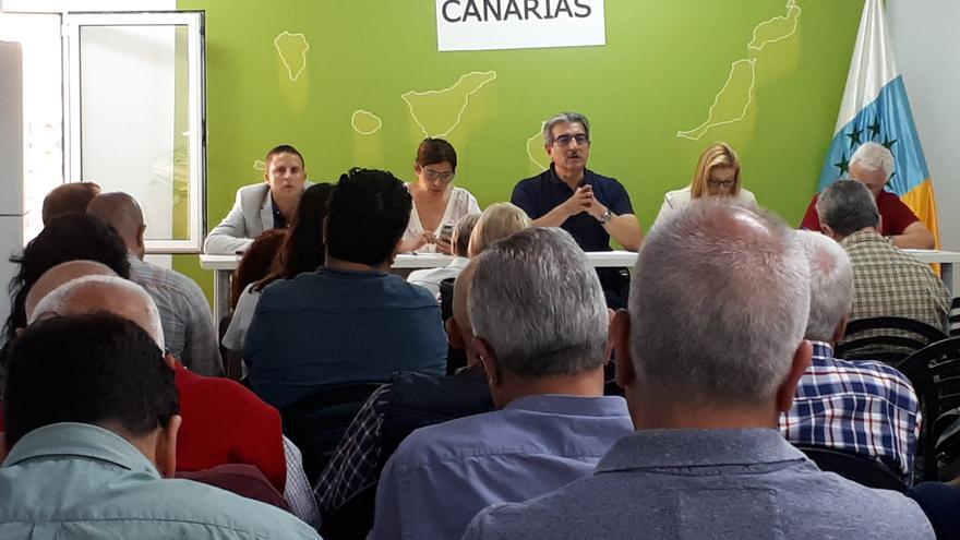 Román Rodríguez preside la Ejecutiva Nacional de Nueva Canarias.