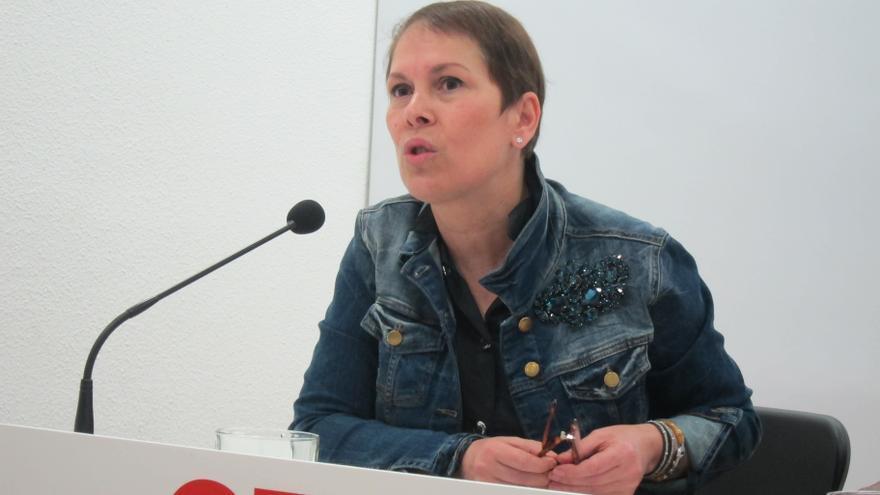 """Uxue Barkos dice que la marcha de Bilbao responde a """"la defensa de derechos civiles muy básicos"""""""