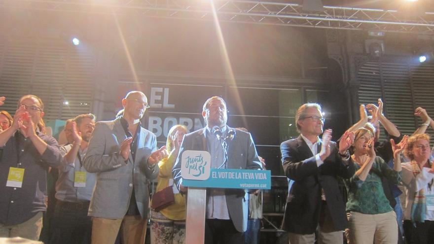 JxSí gana en la provincia de Barcelona con el 36% y el independentismo suma el 44% de votos