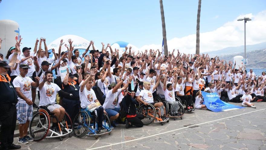 Imagen de la clausura de la jornada celebrada en la ciudad turística del norte de Tenerife