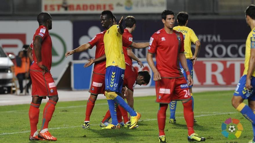 Imagen del partido de ida entre la Unión Deportiva Las Palmas y el Alcorcón. LFP