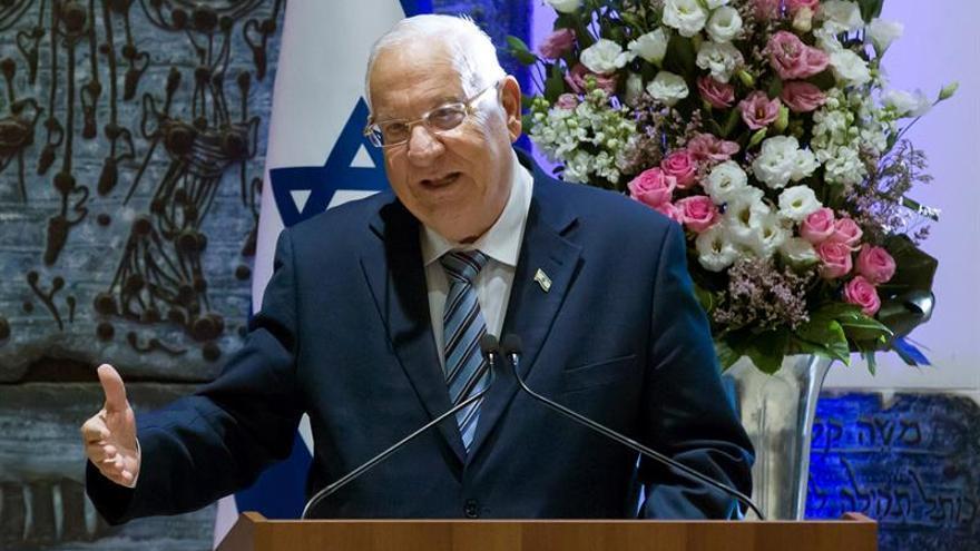 El presidente israelí Rivlin inicia hoy una visita de Estado a España