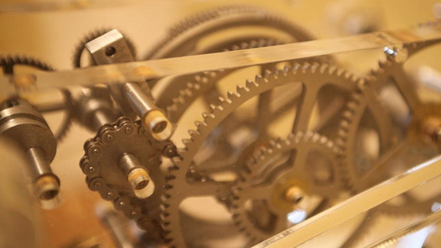 Los autómatas se movían gracias a la energía mecánica proporcionada por engranajes como los utilizados en relojería