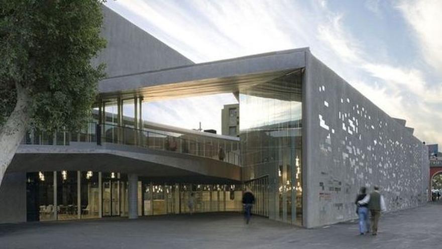 Imagen de archivo del espacio artístico TEA, en el centro de Santa Cruz