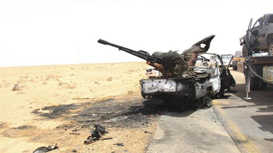 La rama libia del EI avanza desde la ciudad de Sirte a la vecina Misrata