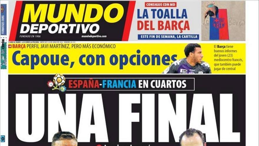 De las portadas del día (20/06/2012) #14