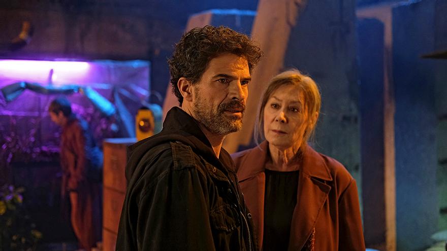 Imagen del final de la temporada 4 de 'El Ministerio del Tiempo'