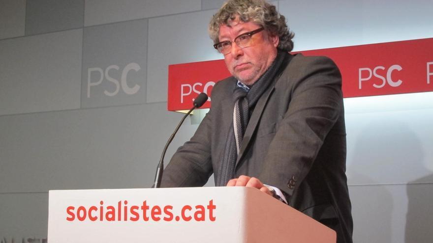 """El PSC tacha de """"insensatez"""" la propuesta de Junqueras de paralizar la economía catalana"""