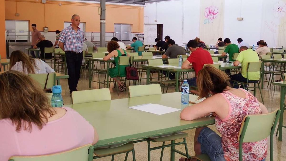 Imagen de archivo de las oposiciones de Educación para plazas docentes en Extremadura