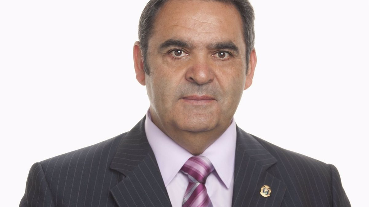 Agustín Padrón, exalcalde de Valverde