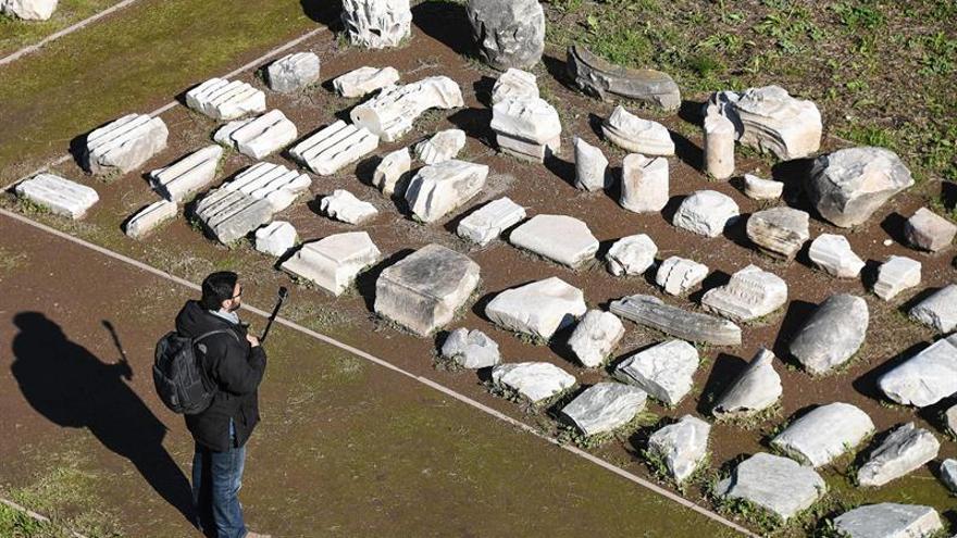 Roma abre al público el área arqueológica de su Circo Máximo