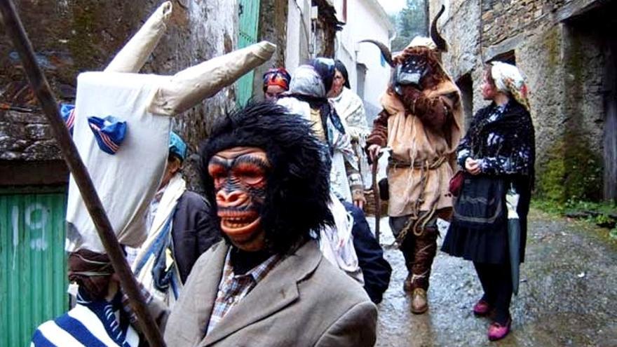 De un gran arraigo costumbrista y mítico, se conserva el carnaval hurdano como una de las fuentes históricas mejor guardadas / mancomunidadhurdes.org