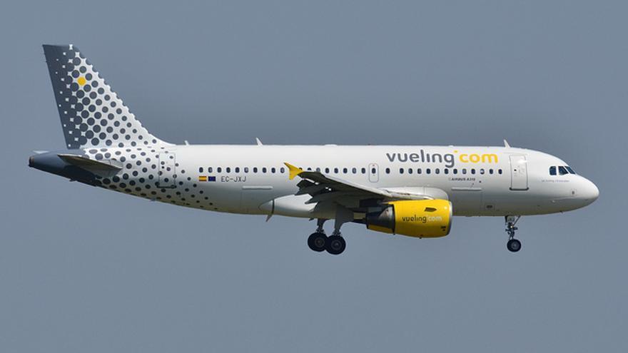 Avión de la compañía Vueling (Foto: Luccia.errera | Flickr)