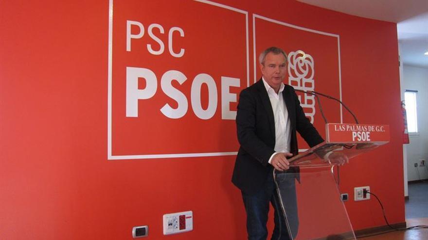 El candidato del PSOE al Congreso, Sebastián Franquis.