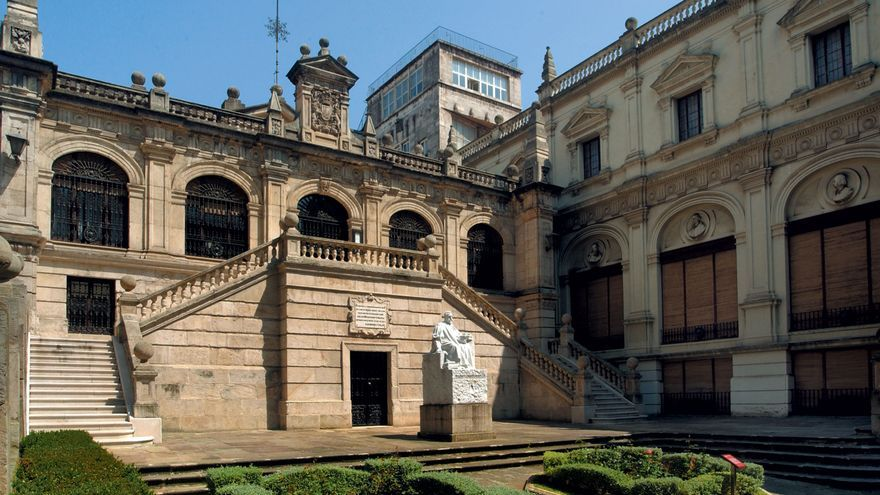 Biblioteca Menéndez Pelayo de Santander.